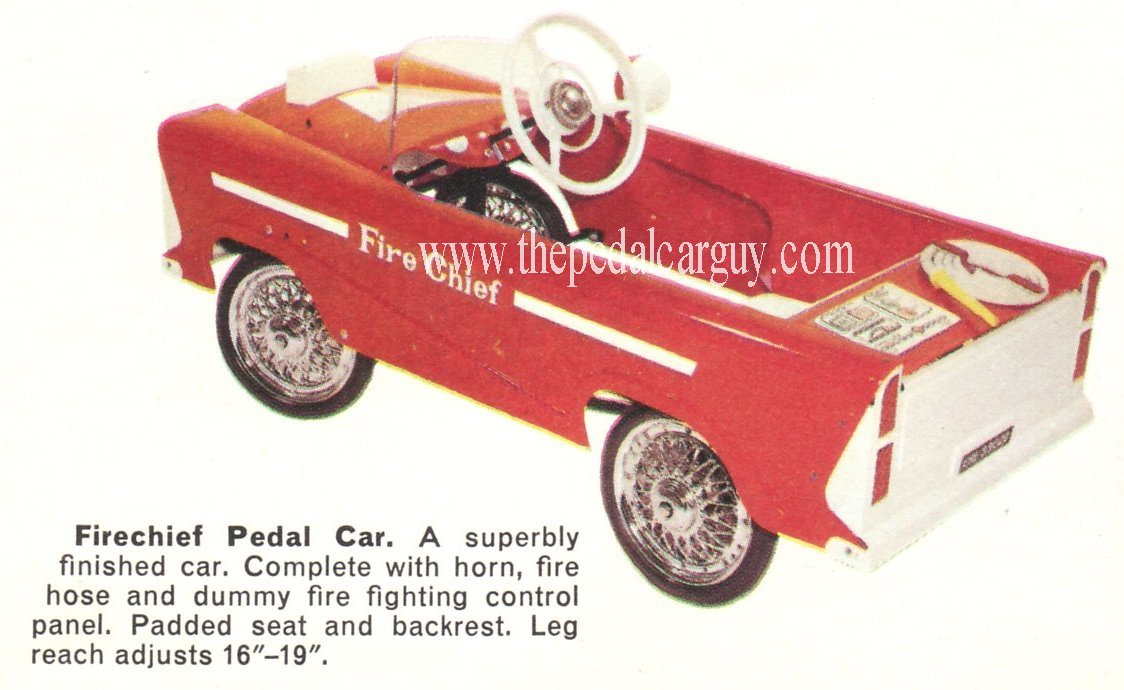 Police Pedal Car Parts